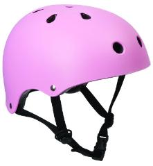 SFR Skate Helmet Matt Pink XXS-XL