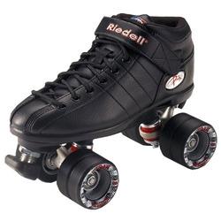 Riedell R3 Roller Derby Speed Skates Black