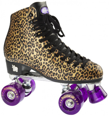 Rookie Classic Leopard Print Roller Skates - UK Sizes 3-8