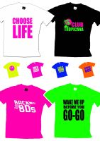 Any 80s Slogan Unisex T Shirt - Any Colour - Any Size