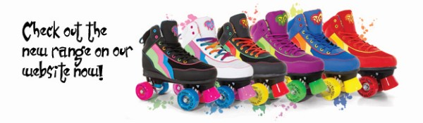 Rio Roller Skates available from the Rinkside Skate Shop