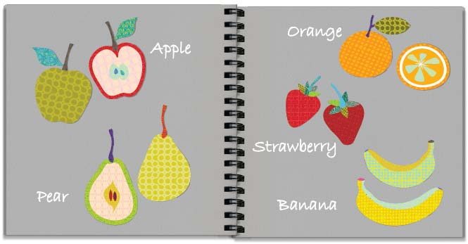 Fruit patterns storyboard