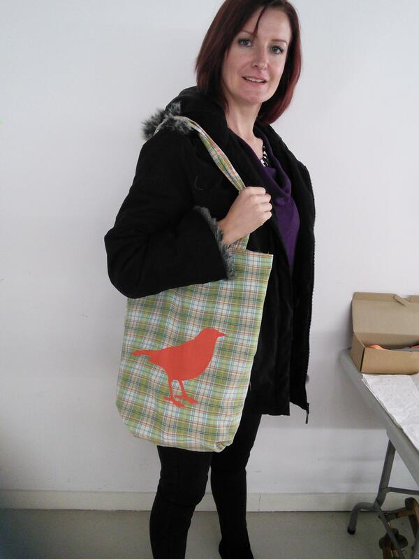 helen bag at fabrications workshop