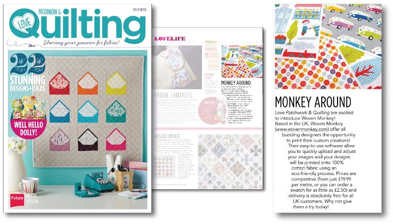 love patchwork and quilting issue 7