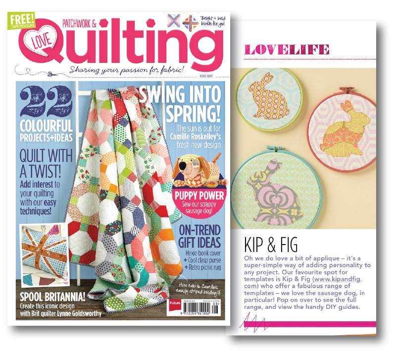 love patchwork and quilting issue 8