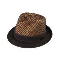 Dasmarca Copacabana Men's Women's Straw Summer Trilby Hat