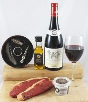 Classic Gourmet Steak & Wine Box