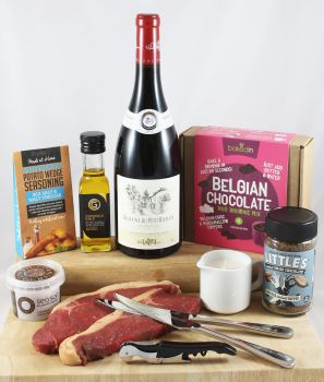 Date Night In Steak & Wine Kit