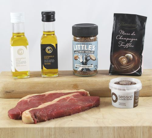 'A Bit of Romance' Steak Gift Box