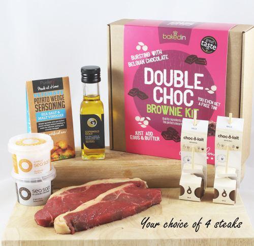 The Deluxe Family Steak Gift Box