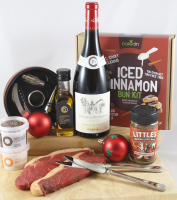 Festive Christmas Steak & Wine Box