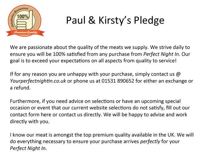 paul kirsty pledge