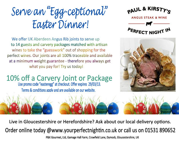 easter promo card