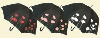 Colour Changing Poppy Umbrella