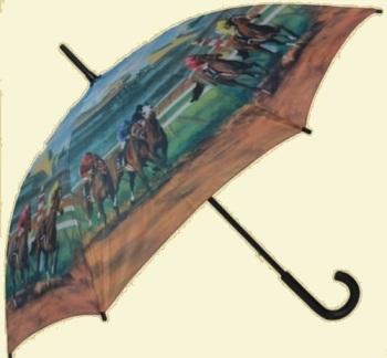 Derby Horse Stick Umbrella