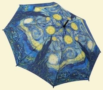Van Gogh Starry Night Stick Umbrella