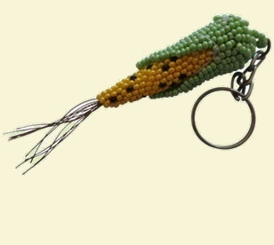 Maize Sweetcorn Keyring