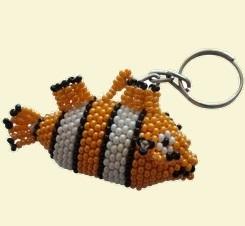 Nemo Clownfish Keyring