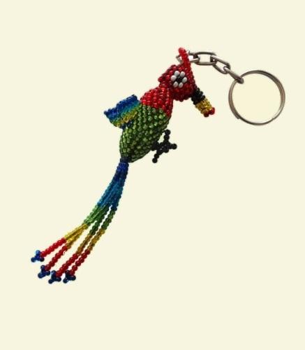 Quetzal Bird Keyring
