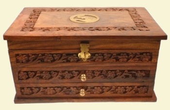 Jewellery Box with Drawers