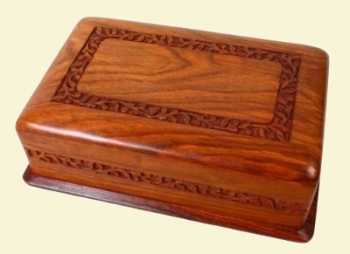 Smooth Carved Box