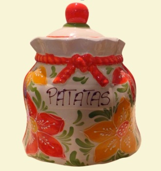 Mallorca Potato Crock Storage Jar