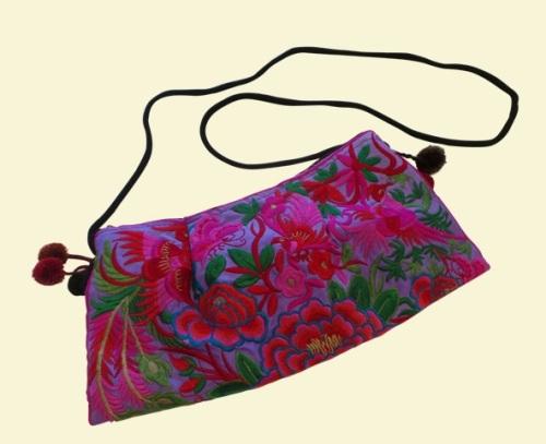 Purple Flower Bag - BG137