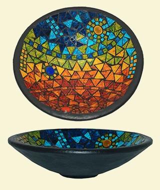 Mosaic Bowl - 30cm