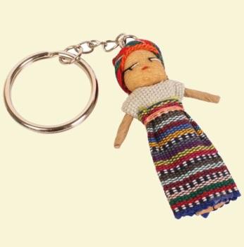 Worry Doll Keyring