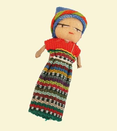 Worry Doll Brooch
