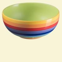 Rainbow Stripe Small Bowl