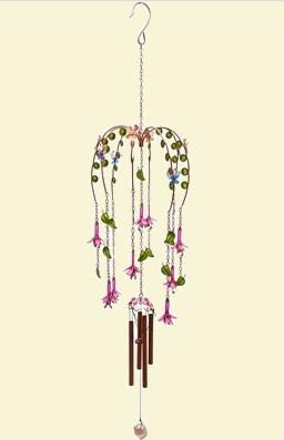 Chains of Fuchsia Windchimes