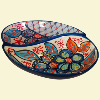 Double Serving Bowl - Caleta