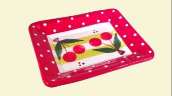 Alfarnate Small Rectangle Serving Plate