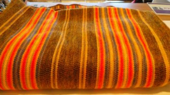 Cosy Handwoven Blanket/Throw from Ecuador - Medium Various Colours