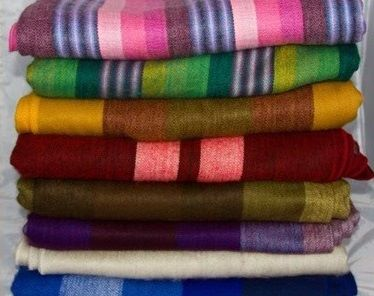 Handwoven Blanket/Throw from Ecuador