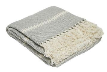 Oxford Stripe Dove Grey