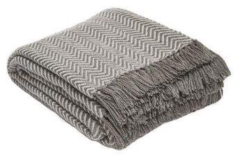 Herringbone Tabby Blanket from Weaver Green