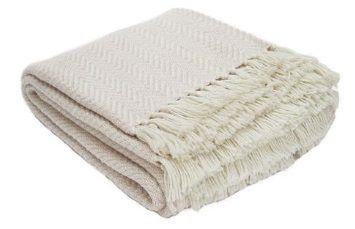 Herringbone Shell Blanket from Weaver Green