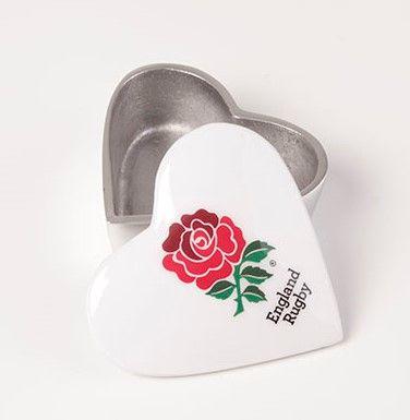ER Heart Trinket Box 10cm