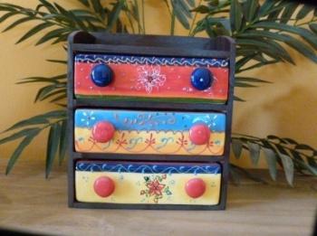 Set of 3 Mini Drawers