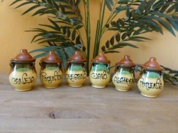 Herb Jar Set - Jerez