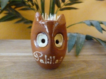Owl Cocktail Stick/Toothpick Holder