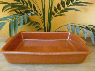 Cazuela Rectangular Oven/Serving Dish 27x17cm
