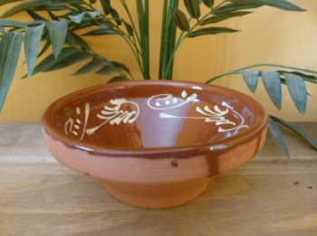 Decorated Salad Bowl - 15cm - Badajoz