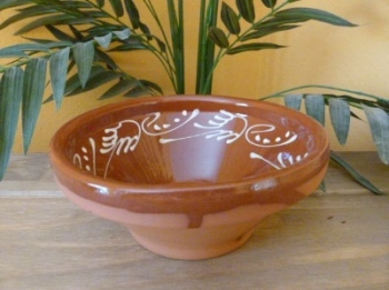 Decorated Salad Bowl - 18cm - Badajoz
