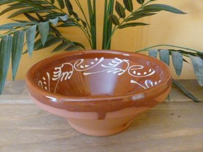 Decorated Salad Bowl - 18cm - Badajoz