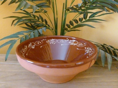 Decorated Salad Bowl - 28cm - Badajoz