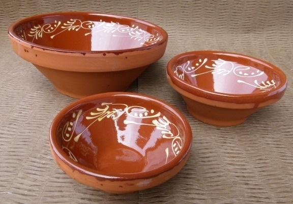 decorative salad bowl set