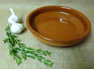 Cazuela Terracotta Tapas Dish 24cm